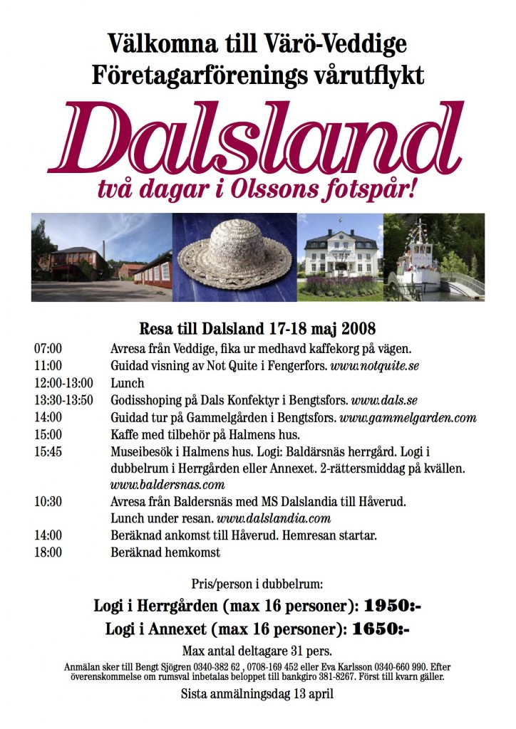 Dalaslandsresa